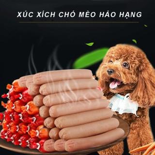 10 Xúc xích cho chó mèo CHICKEN BEER thượng hạng 2 vị bò ,gà thơm ngon bổ dưỡng csp50a thumbnail