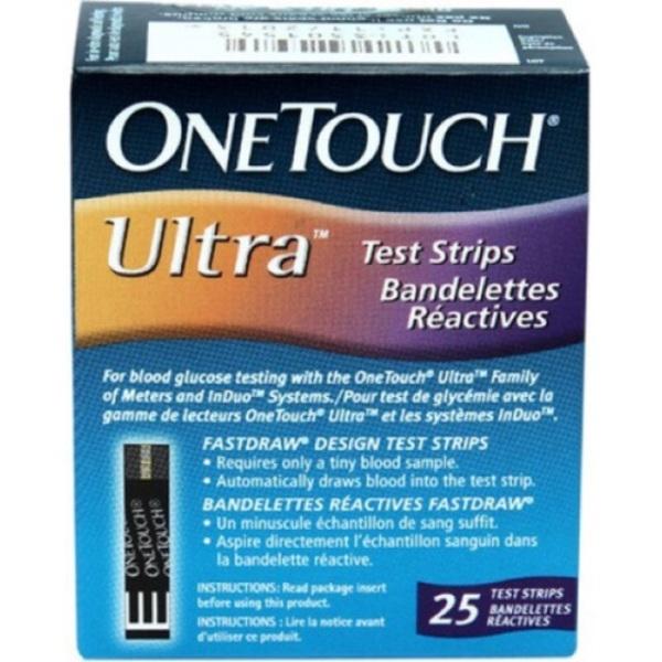 Nơi bán [Date Xa] Que Ultra Thử Đường Huyết OneTouch Ultra ( Test Tiểu Đường One Touch Ultra)