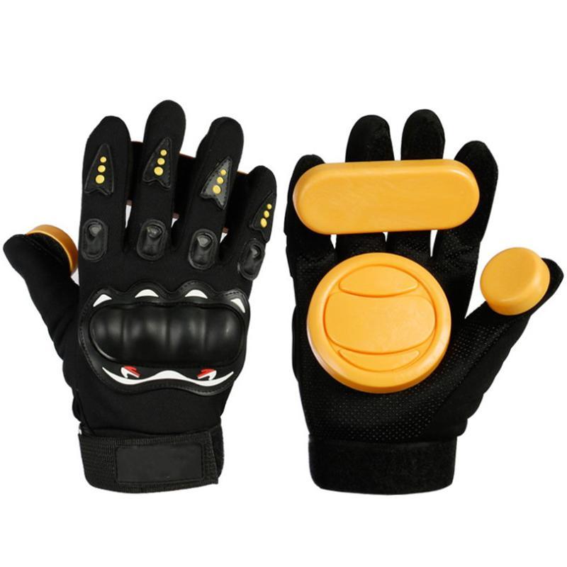 Bảng giá Skateboard Gloves Downhill Slide Gloves Fire Stone Flint Sparks Longboard Gloves Protective Gear/Pad Downhill Slide Gloves