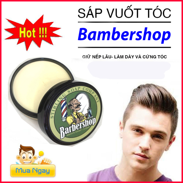 Sáp Vuốt Tóc BARBERSHOP  dành cho Nam/Nữ 100ml/wax vuốt tóc/ keo vuốt tóc/ sap vuot toc giá rẻ