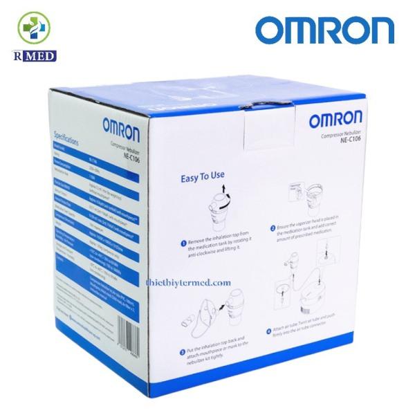 [ Chính hãng 100%] Omron NE-C106 - Máy Xông Khí Dung Mũi Họng- Bảo hành 2 năm