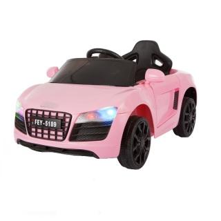 Ô tô xe điện đồ chơi AUDI FEY-5189 vận động cho bé tự lái và điều khiển từ xa (Trắng-Xanh-Hồng-Đỏ) thumbnail