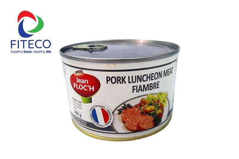 [HCM]Pork Luncheon Meat 400g ( Pate Thịt Heo ) - Pháp