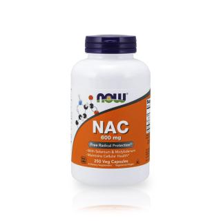 Viên Uống Giải Độc Gan NOW NAC 600mg - 250 Viên của Mỹ thumbnail