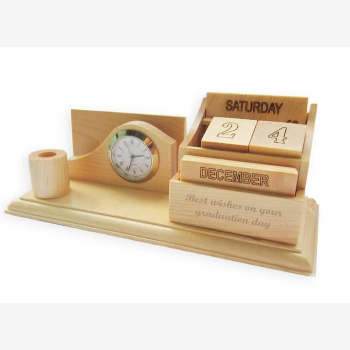 Quà tặng lịch gỗ để bàn