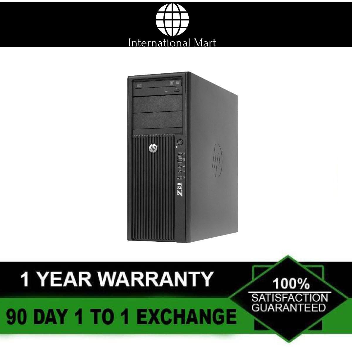 Máy tính đồ họa 3D HP WORKSTATION Z210 MT (CPU Xeon E3-1225, Ram ECC 16GB, HDD 2TB, VGA Rời Quadro 2000) + Bộ Quà Tặng