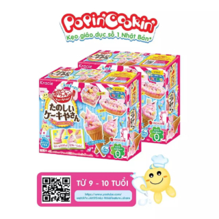 Kẹo sáng tạo Popin Cookin Tanoshii Cake Ya San - Bộ làm kem thumbnail