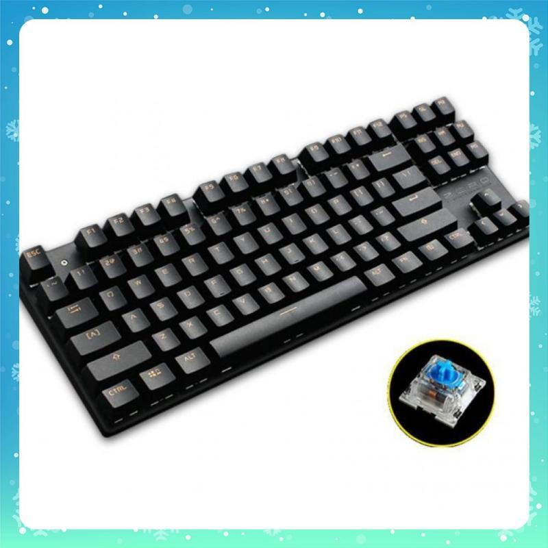 Bàn phím cơ Zero Metoo TKL không led 87 phím (đen) -dc018