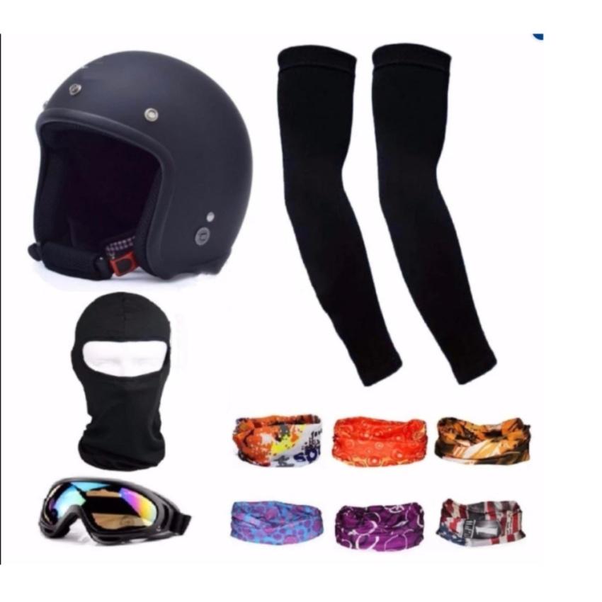 Cửa Hàng Bộ 1 Non Bảo Hiểm 3 4 Đầu Đen 1 Mũ Ninja 1 Đoi Bao Tay Chống Nắng 1 Kinh Phượt Tặng 2 Khăn Phượt Đa Năng Mau Ngẫu Nhien Đen Rẻ Nhất