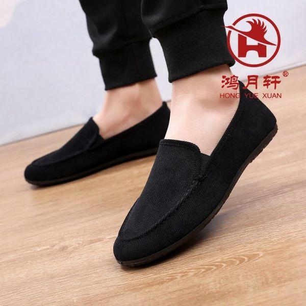 Mùa Xuân Và Mùa Hè Thu Đông Nam Bắc Kinh Giày Thoáng Khí Thường Giày Một Đôi Giày Lười Hàn Quốc Xu Hướng Lái Xe