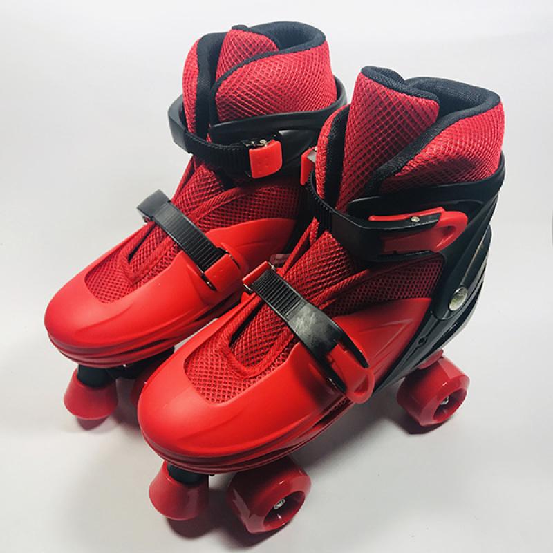 Phân phối Giày Patin 4 bánh ngang đỏ