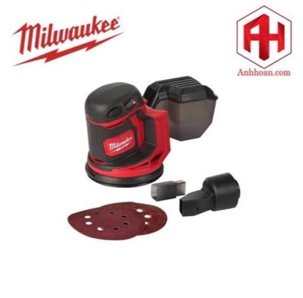 Milwaukee Máy chà nhám dùng pin 18V M18 BOS125-0X0 (Solo)