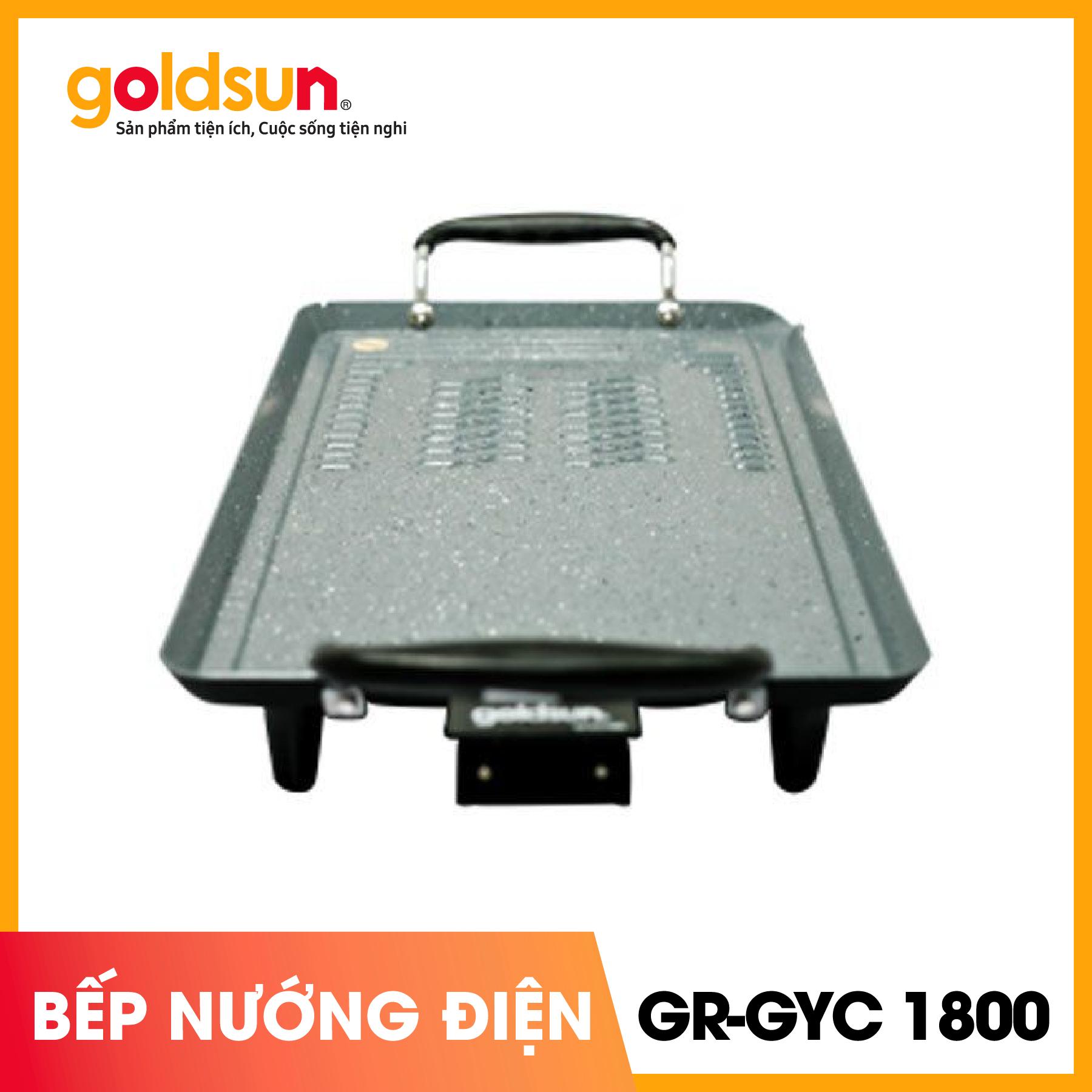 Bếp Nướng Điện Chống Dính Goldsun GR-GYC1800 Giá Tốt Nhất Thị Trường