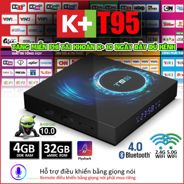 Android  TV Box Plus tích họp RAM 4G, bộ nhớ trong lên đến 32GB hỗ trợ trải nghiệm chơi game, xem phim với hình ảnh HD 6k, tính năng tìm kiếm giọng nói tiện ích,bảo hành 12 tháng Tv Android Box X10 Plus