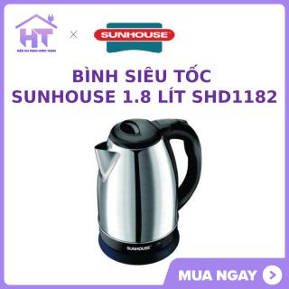 Bình siêu tốc Sunhouse 1.8 lít SHD1182, hàng trưng bày mới 97-98% thumbnail