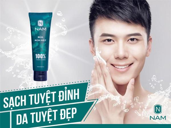 Sữa rửa mặt dành cho nam Thiên Nhiên Việt 120ml, ngăn ngừa mụn, sạch nhờn, se khít lỗ chân lông - Daily Natural giá rẻ