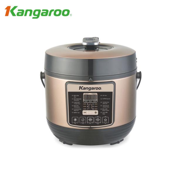 Nồi áp suất điện tử Kangaroo KG6P1 6L - Hàng Chính Hãng