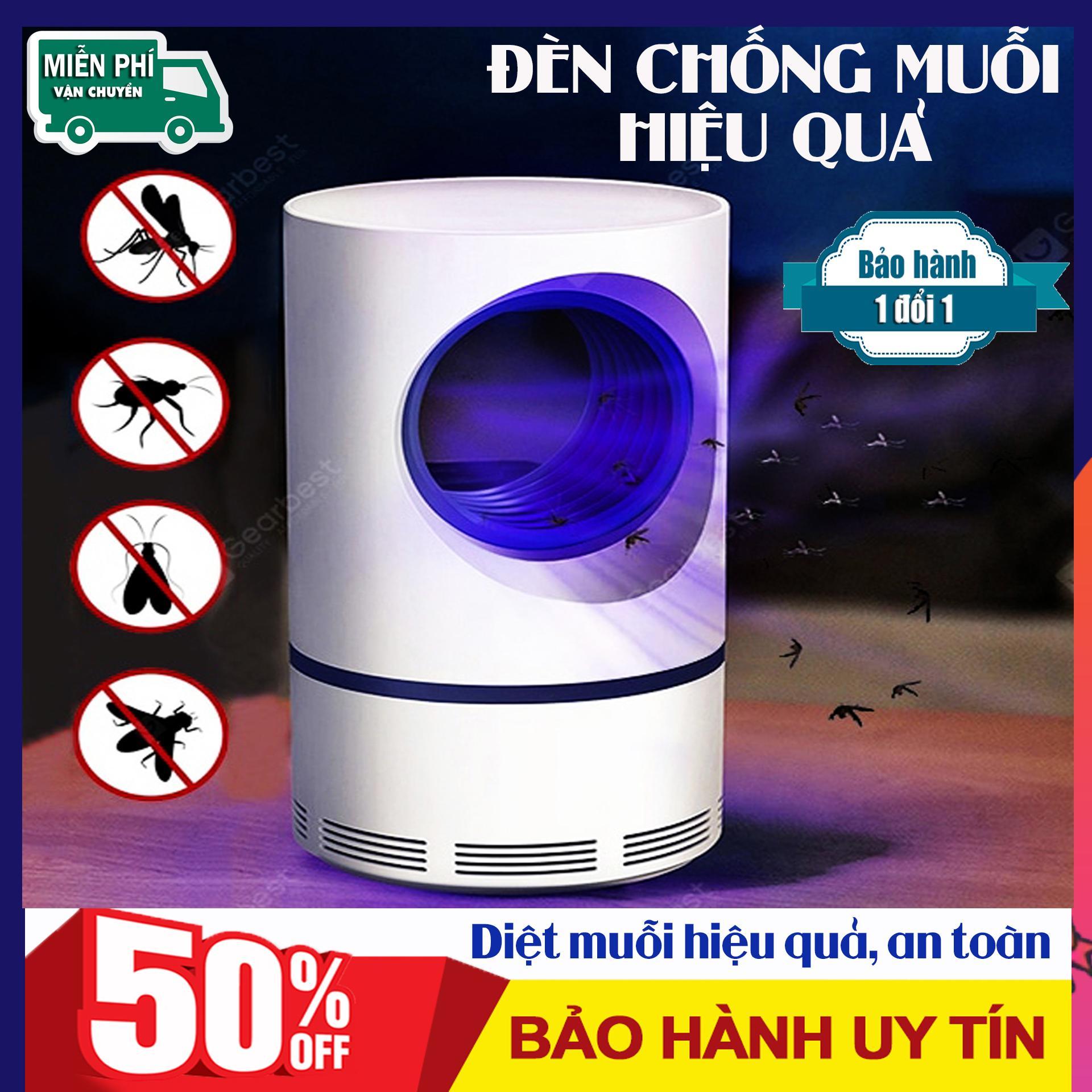 Đèn hút muỗi hiệu quả cho gia đình, Máy bắt muỗi thông minh an toàn cho bé, Thiết bị bắt muỗi diệt côn trùng. Thiết kế đèn UV thu hút muỗi, an toàn đối với con người. Bảo hành tại BBINSTORE