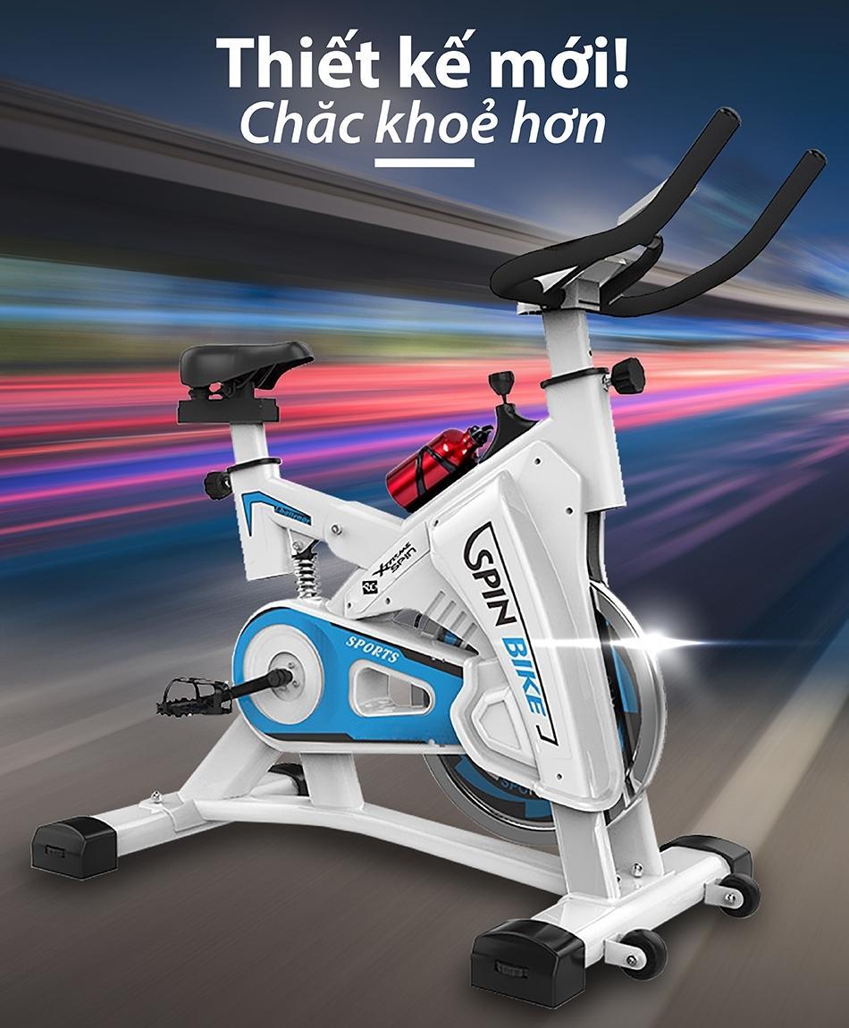 Bảng giá B&G Xe đạp tập thể thao Spining Bike Mẫu S306 sức kéo bánh đà lên đến 32kg