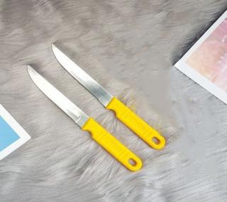 Dao Bếp Inox Cán Vàng Cao Cấp Kiểu Dáng Đẹp Mắt, Tinh Tế, Lưỡi Dao Gia Công Kỹ thumbnail
