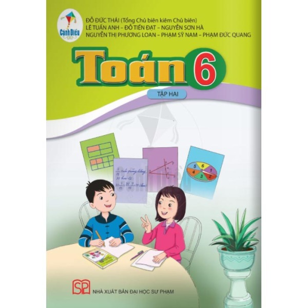Toán - Lớp 6 - Tập 2 - Bộ Sách Cánh Diều