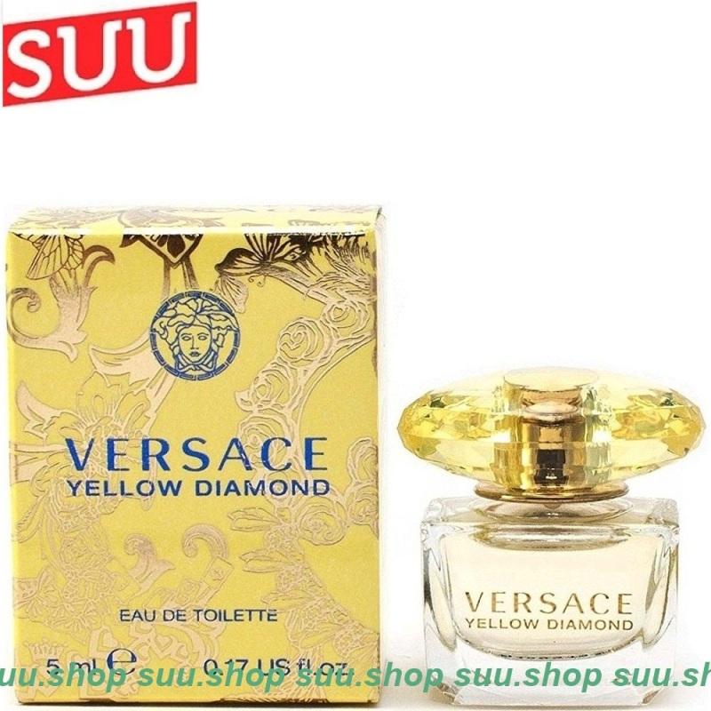 Nước Hoa Nữ 5ml Versace Yellow Diamond chính hãng