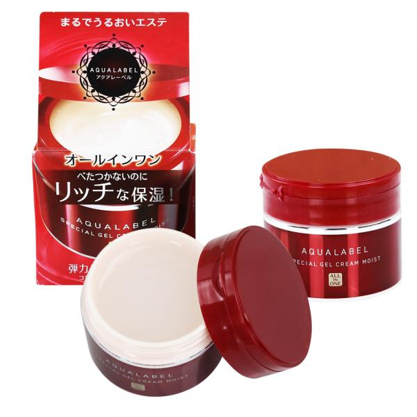 Kem Dưỡng Da Shiseido Aqualabel Nhật Bản 5 in 1 hộp 90g