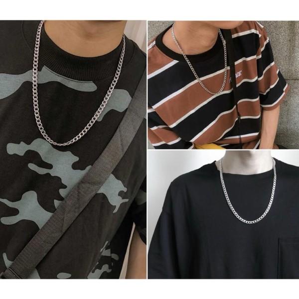 Dây chuyền thép Titan phong cách hip hop Unisex nam nữ không gỉ Bts Exo, thiết kế hợp thời trang, hàng giống như hình ảnh và đảm bảo giá thấp hơn thị trường