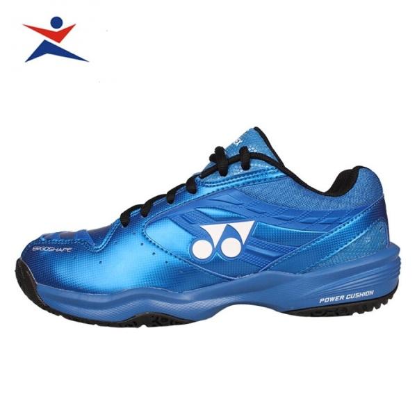 Giày cầu lông nam nữ Yonex màu xanh-rêu size từ 36-44, đế cao su già đàn hồi chống lật cổ chân-giày thể thao-giày bóng chuyền