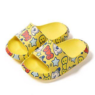 Dép Mùa Hè Mới Cho Bé Giày Đi Biển In Hình Hoạt Hình EVA Thời Trang Cho Trẻ Em 2-12 Tuổi