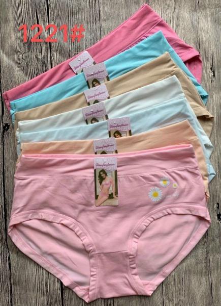 Nơi bán Bộ 10 quần lót nữ Bigsize cho các bạn nữ trên 60kg, chất liệu cotton Thái Lan, hoa cúc, shop giao màu ngẫu nhiên