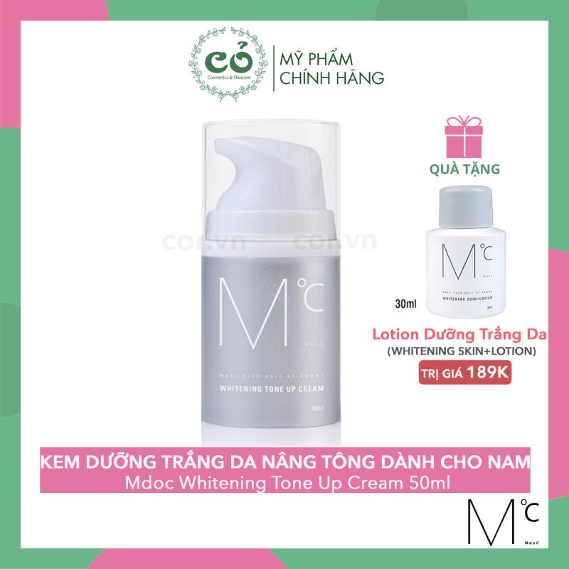 Kem dưỡng trắng da nâng tông Mdoc Whitening Tone Up Cream 50ml