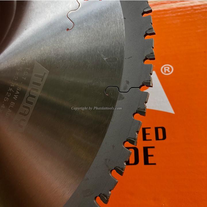 Lưỡi Cưa Thép Hợp Kim Tốc Độ Chậm TIWAY  305mm-60 Răng-Công Nghệ Đức