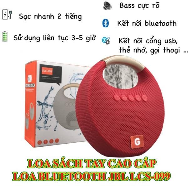 Loa Bluetooth Chính Hãng LCS-099 Bass Mạnh Mẽ, Dãi Treble Thì Cực Kỳ Sáng Rõ Chất Lượng Âm Thanh Hàng Đầu