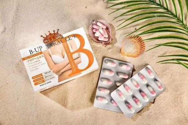 Viên Uống Nở Ngực B-Up Miracle 60 Viên Nhật Bản