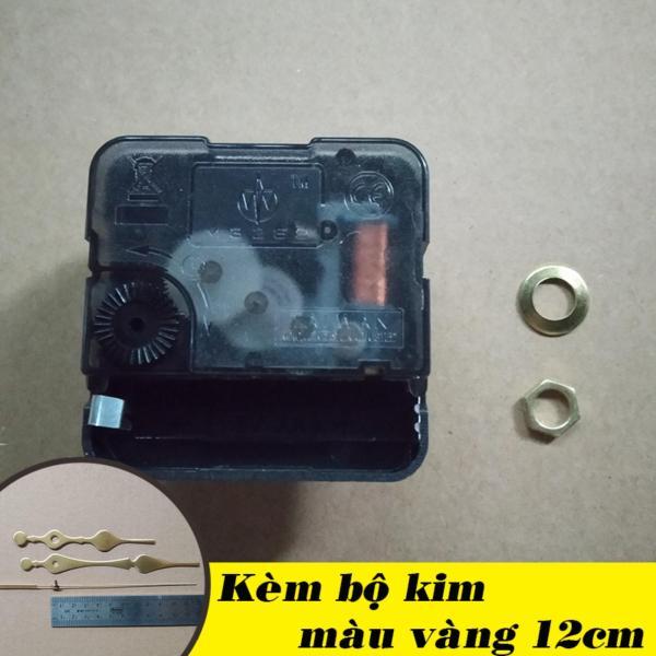 Nơi bán Bộ kim vàng 12cm và Máy đồng hồ treo tường Taiwan kim giật M3288