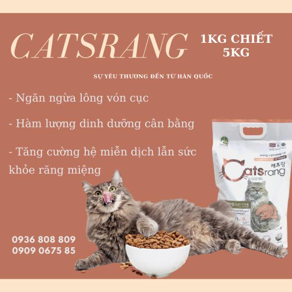 Thức ăn khô cho mèo - Catsrang