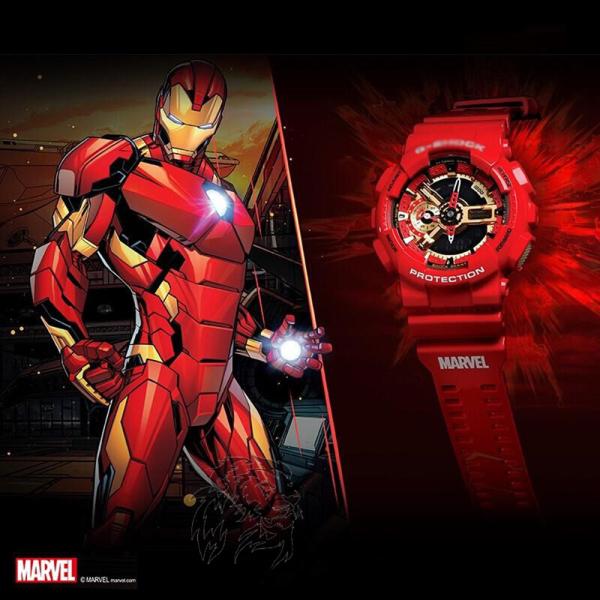 Đồng Hồ Casio G-Shock Iron Men GA-110 - Đồng hồ G Shock thể thao nan phiên bản giới hạn - Đồng hồ Casio bán chạy