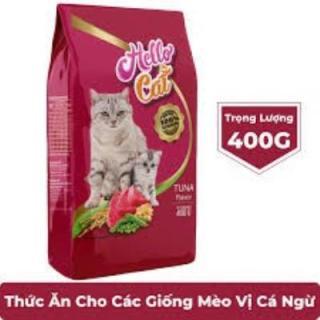 Hạt cho mèo HELLO CAT gói 400g thumbnail