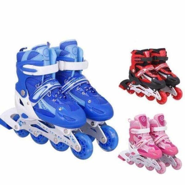 Giá bán Giày Patin, Giày trượt Patin Phát Sáng Tặng kèm đồ bảo hộ Và Túi đựng giày cao cấp