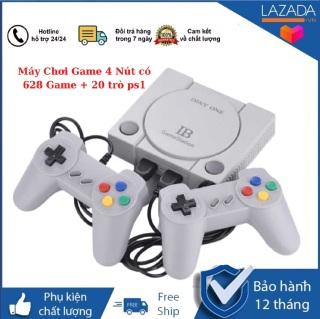 Máy Chơi Game 4 Nút co CÔ NG HDMI 628 Game + 20 trò ps1 máy chơi gamer cầm tay máy chơi gane máy chơi gamer 4 nút máy chơi gamer điện tử máy chơi gamer máy chơi gane ps4 thumbnail