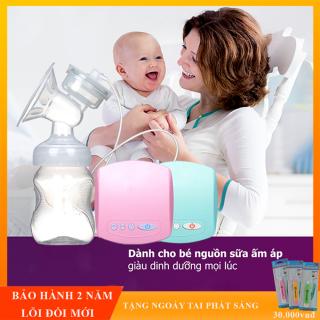 Máy hút sữa điện đơn Miss Baby có chế độ Massage kích sữa điều chỉnh 9 mức độ- Thiết kế thông minh tiện dụng- Tháo lắp dễ dàng- chất liệu nhựa PP an toàn tuyệt đối với trẻ - BẢO HÀNH 2 NĂM ĐỔI MỚI 1-1 TRONG 7 NGÀY thumbnail