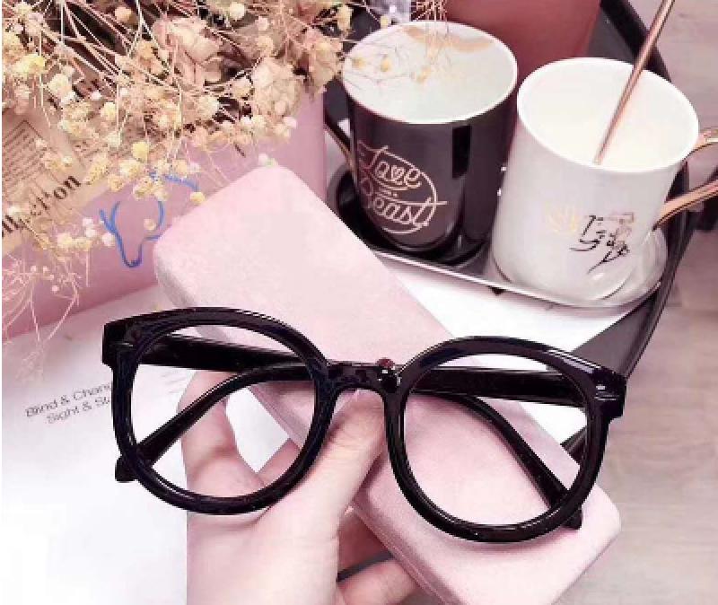 Giá bán Mắt kính gọng tròn đen hottrend  Kính mát phong cách Hàn Quốc