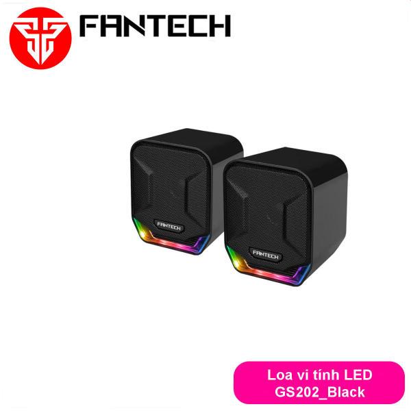 Bảng giá Loa vi tính gaming siêu gọn nhẹ có LED dùng cho điện thoại, máy tính... Fantech GS202 Phong Vũ