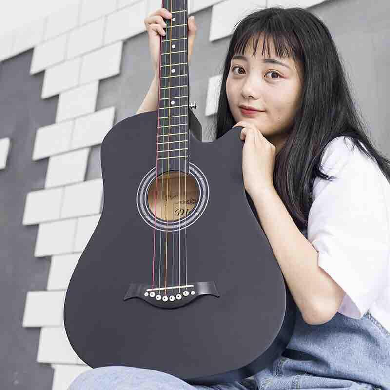 Voucher Khuyến Mãi Đàn Guitar Acoutic Dd100 38 Inch Màu đen