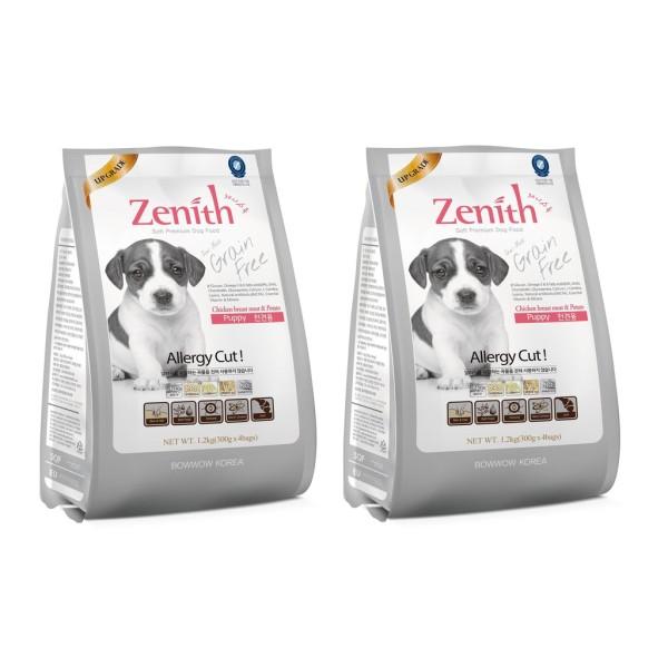 Zenith Thức ăn hạt mềm cho chó con 300Gram