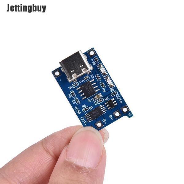 Bảng giá Jettingbuy 5 chiếc mạch sạc pin Lithium USB loại C 5V 1A 18650 TP4056 có đèn báo LED - INTL