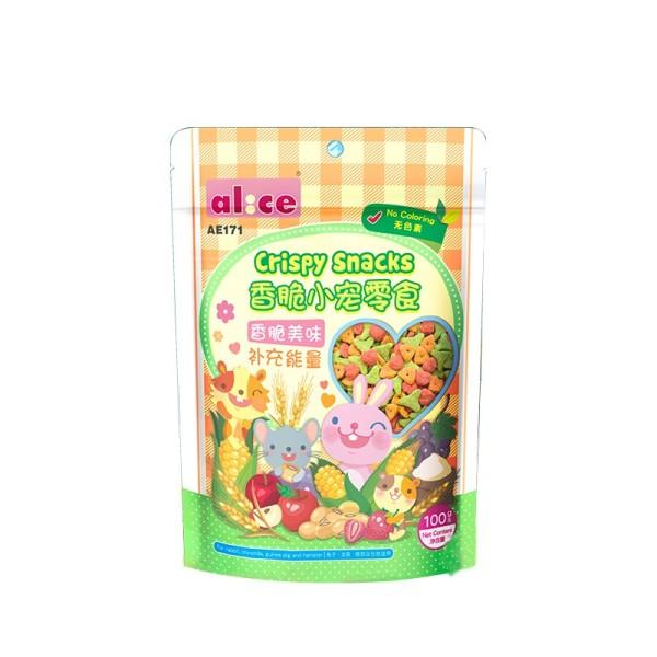 Snack rau củ alice dành cho mọi loại thú cưng cam kết sản phẩm đúng mô tả chất lượng đảm bảo an toàn đến sức khỏe thú cưng của bạn