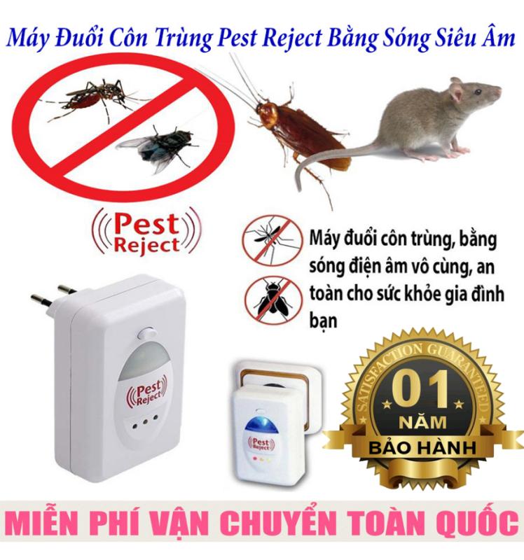 Máy đuổi chuột,máy đuổi côn trùng PEST REJECT,Bằng Sóng Âm Hiệu Quả,Bảo Vệ Sức Khỏe, An Toàn Khi Sử Dụng-Bảo hành uy tín 1 đổi 1