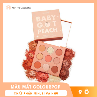 Bảng màu mắt Colourpop Baby Got Peach 9 ô thumbnail